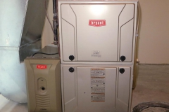 Bryant Gas Furnace and Air Purifier
