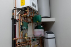 Hydronic Heating System With Domestic Hot Water
