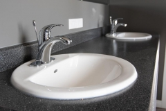 Colony China Basin and Price Pfister Faucet